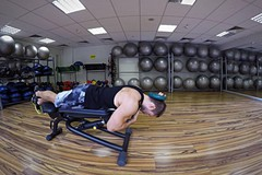 Lying face down plate neck resistance