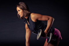 Dumbbell Only Split for woman